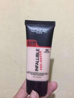 Loreal Infallible Pro-matte