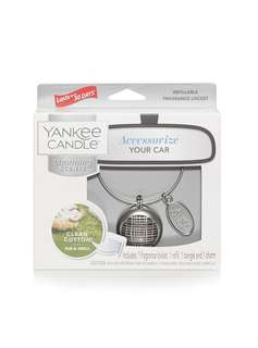 Yankee Candle Charming Scents Linear Starter Kit, Clean Cotton