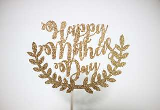 Customised cake topper// Mother's Day