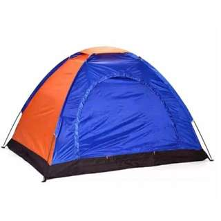 3 Person Dome Camping Tent (Color may vary)