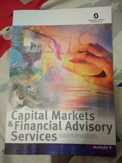 Capital Markets & Financial Advisory Services (CMFAS) Module 9 Fifth Edition by Singapore College of Insurance