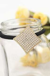 Korean Version Diamond Studded Elastic Hair band