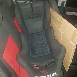 Bride semi bucket seat with swift sport rails
