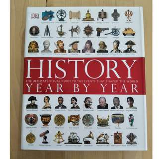 History Year by Year Book (Hardcover)