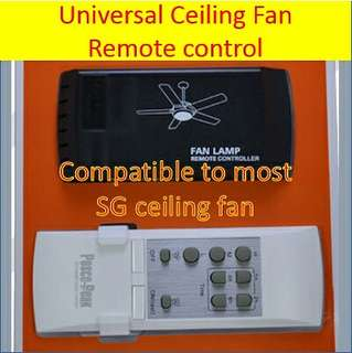 Ceiling fans remote replacement