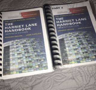 JOHNS HOPKINS HOSPITAL HARRIET LANE HANDBOOK 20th ed.