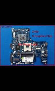 Lenovo Laptop motherboard z400 touch