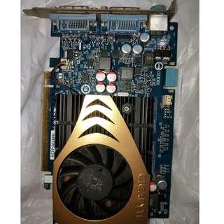 技嘉大廠品質穩定 採用 NVIDIA 9500 GT 繪圖晶片 支援 PCI 2.0Express 支援微軟 DirectX® 10.0 及OpenGL® 2.1指令集 台北捷運可面交