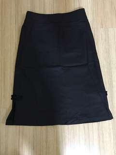 Cheongsam inspired A line skirt