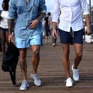 Plain Urban Pipe Shorts For Men & Women