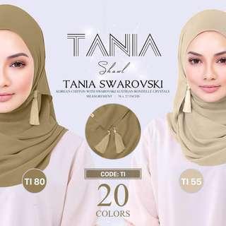 Tania Shawl by Naelofar Hijab