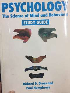Psychology: the science of mind and behaviour Study Guide