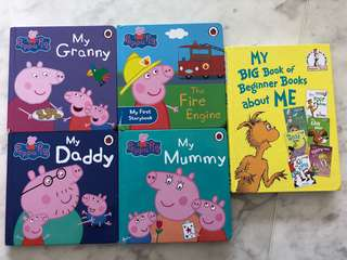 Toddler books Peppa pig Dr suess