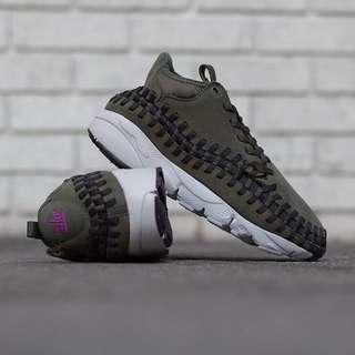 🚚 Nike footscape woven 編織 軍綠