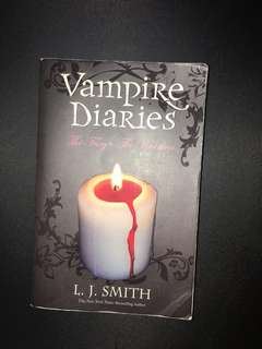 Vampire Diaries Book (The fury and The Reunion)