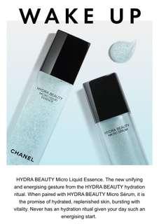 Brand New Chanel Hydra Beauty Micro Liquid Essence & Micro Serum