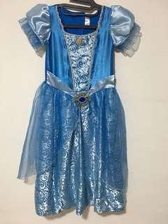 Cinderella dress (7 YO)