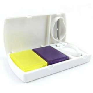 Pocket Tablet Box With Pill Cutter