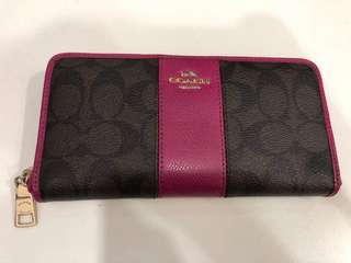 Preloved Authentic coach long wallet (cod only)