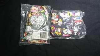 🌟BNIP Dreamworld Tokidoki Hello Kitty Jujube Coin Purse Pouch and jjb Iconic Be Tagged
