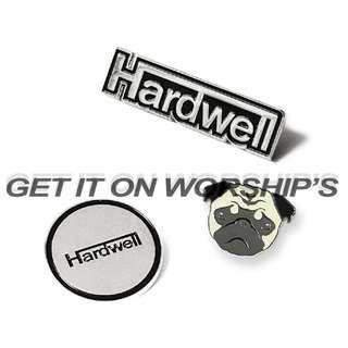 Hardwell Pins / Stickers Set ( D1 )
