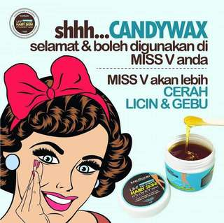CANDYWAX KIT/SET  3IN1