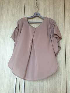 Pink Blouse TOP Women's clothes