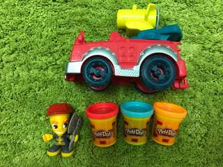 Play-Doh town - Fire truck