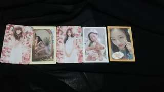 twice and apink photocards