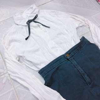 Full set $48 (ribbon top with shorts)