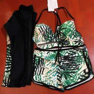 Tropical Bikini and Rashguard