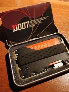 美國Dango 007限量版創意信用卡 /錢夾