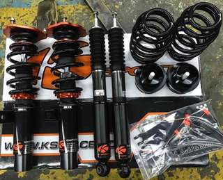 K Sport Coilovers (street) for Scirocco 1.4