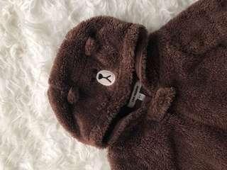 Baby costume bear