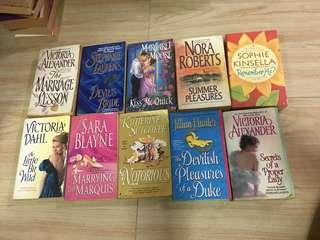 Romance novel bundle