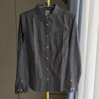 GIORDANO (kids) Gray Long Sleeve Shirt (R 287)