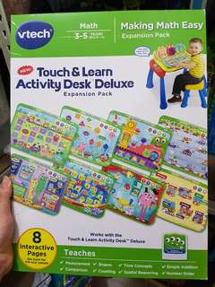 Vtech Touch & Learn expansion pack - Maths