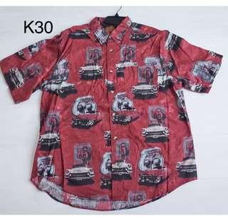 5/8 Vintage- 買不起老車 買件老車襯衫一樣帥 短袖襯衫