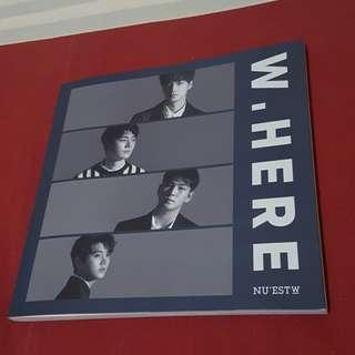 Album Nu'est W - W.here Potrait Version