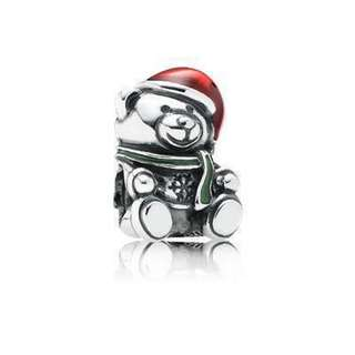 BN Pandora Christmas Teddy Bear charm price reduced
