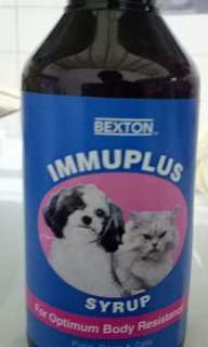 Immuplus for cats n dogs