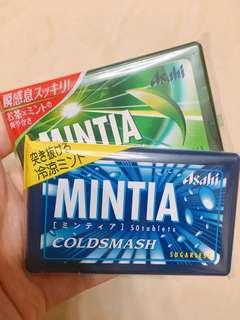 Asahi minta 薄荷糖