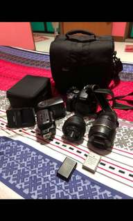 Nikon D1500 with speed light SB-910