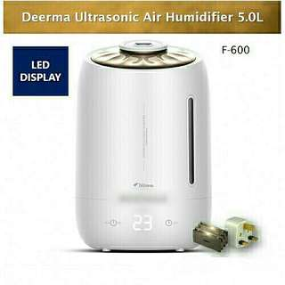 (LATEST) Deerma F600 Touch Screen Air Humidifier Timer