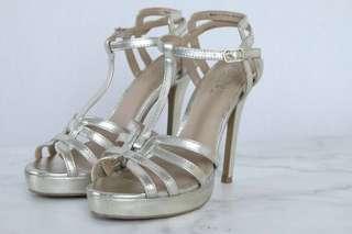 Brash Gold High Heels