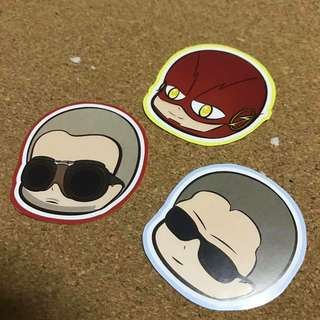 THE FLASH Stickers