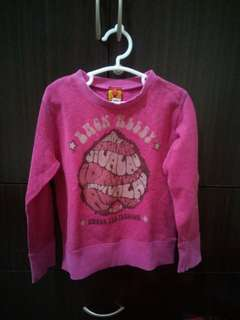 Kids Pink Glittered Jacket
