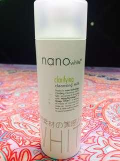 Nano White Clarifying Cleansing Milk