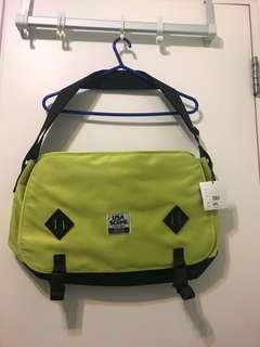 ICE FIRE SCENE Messenger Bag
