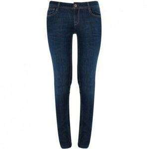 DL1961 Jeans Zipper detail and dark wash skinny size 27
